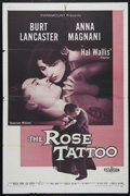 "Movie Posters:Drama, The Rose Tattoo (Paramount, 1955). One Sheet (27"" X 41""). Drama. Directed by Daniel mann. Starring Burt Lancaster, Anna Magn..."