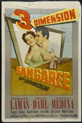"Movie Posters:Adventure, Sangaree (Paramount, 1953). One Sheet (27"" X 41""). Adventure.Directed by Edward Ludwig. Starring Fernando Lamas, Arlene Dah..."