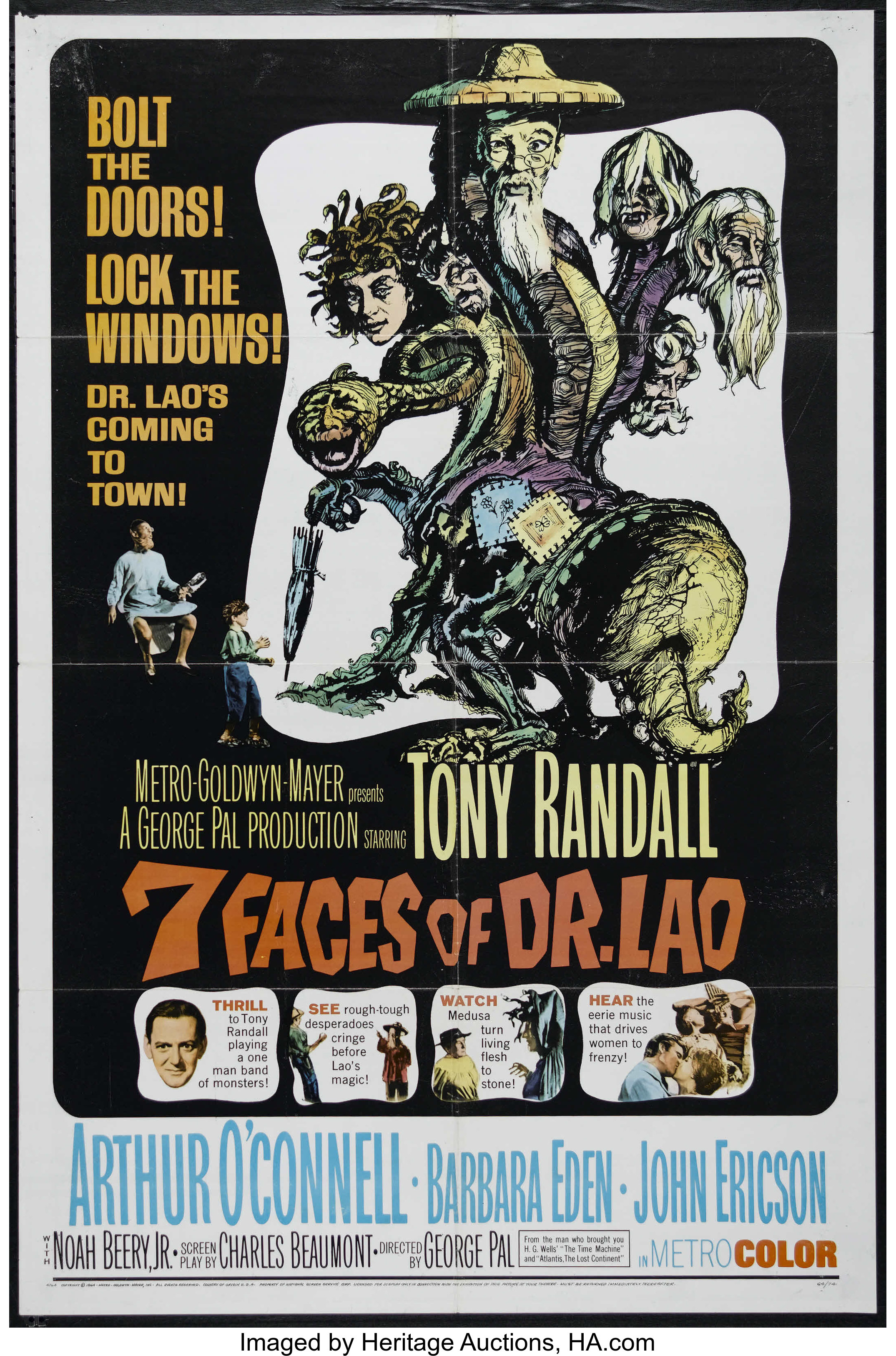 Seven Faces of Dr  Lao (MGM, 1964)  One Sheet (27