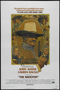 "The Shootist (Paramount, 1976). One Sheet (27"" X 41""). Western. Directed by Don Siegel. Starring John Wayne, L..."