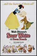 "Movie Posters:Animated, Snow White and the Seven Dwarfs (Buena Vista, R-1967). One Sheet(27"" X 41""). Animated Fairy Tale. Directed by Dorothy Ann B..."