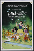 "Movie Posters:Animated, Snow White and the Seven Dwarfs (Buena Vista, R-1983). One Sheet (27"" X 41""). Family. Directed by William Cottrell, Walt Dis..."