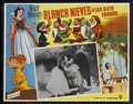 "Movie Posters:Animated, Snow White and the Seven Dwarfs (RKO, R-1950s). Mexican Lobby Card (12.5"" X 16""). Animated Fairy Tale. Directed by Dorothy A..."