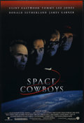 "Movie Posters:Adventure, Space Cowboys (Warner Brothers, 2000). One Sheet (27"" X 41""). StyleA. Double Sided. Comedy Drama. Directed by Clint Eastwoo..."