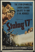 "Movie Posters:War, Stalag 17 (Paramount, 1953). One Sheet (27"" X 41""). War Comedy-Drama. Directed by Billy Wilder. Starring William Holden, Don..."