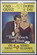 """Movie Posters:Comedy, That Touch of Mink (Universal, 1962). One Sheet (27"""" X 41""""). Comedy. Directed by Delbert Mann. Starring Cary Grant, Doris Da..."""