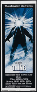 """Movie Posters:Horror, The Thing (Universal, 1982). Insert (14"""" X 36""""). Science Fiction/Horror. Directed by John Carpenter. Starring Kurt Russell, ..."""
