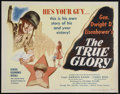 "Movie Posters:Documentary, The True Glory (Columbia, 1945). Half Sheet (22"" X 28""). War Documentary. Directed by Garson Kanin and Carol Reed. Starring ..."