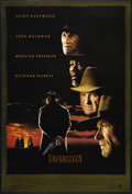 """Movie Posters:Western, Unforgiven (Warner Brothers, 1992). One Sheet (27"""" X 41""""). Double-Sided. Western. Directed by Clint Eastwood. Starring Eastw..."""
