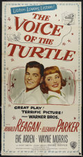 """Movie Posters:Comedy, Voice of the Turtle (Warner Brothers, 1948). Three Sheet (41"""" X 81""""). Comedy. Directed by Irving Rapper. Starring Ronald Rea..."""