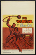 "Movie Posters:Adventure, The Warrior and the Slave Girl (Columbia, 1958). Window Card (14"" X22""). Adventure. Directed by Vittorio Cottafavi. Starrin..."