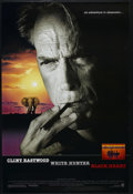 """Movie Posters:Adventure, White Hunter, Black Heart (Warner Brothers, 1990). One Sheet (27"""" X41""""). Double Sided. Action. Directed by Clint Eastwood. ..."""