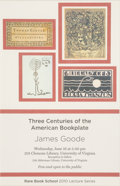 Books:Americana & American History, [Bookplates]. Bookplates and Collecting Ephemera. [London, America,late 19th to early 20th C.]. ... (Total: 4 Items)