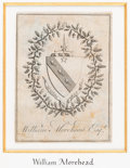 Books:Americana & American History, [Bookplates]. Collection of Eleven Bookplates. [England, American,late 18th to early 20th C.].... (Total: 3 Items)