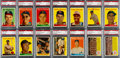 Baseball Cards:Lots, 1958 Topps Baseball Series 5 (#'s 371-440) PSA Graded Complete Run(70) Plus Four Variations. ...