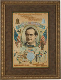 "Political:Posters & Broadsides (1896-present), William Jennings Bryan: The Iconic ""Bryan Octopus"" Poster from the 1900 Election. ..."