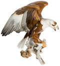 Books:Art & Architecture, Hutschenreuther porcelain eagle. Germany, [early 20th C.]. ...