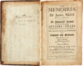 Books:World History, Colonial New York Governor Benjamin Fletcher's Copy of TheMemoires of Sir James Melvil of Hal-Hill: ...
