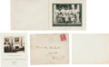 Political:Presidential Relics, Franklin D. Roosevelt: 1931 and 1934 Christmas Cards.... (Total: 2 Items)