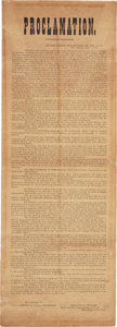 Miscellaneous:Broadside, New Orleans Occupation Broadside: Benjamin F. Butler ProclamationAssuming Command of New Orleans....