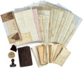 Militaria:Ephemera, Civil War Letters and Diary of Robert H. Crist of Indiana. ...