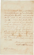 Autographs:U.S. Presidents, Dolley Madison Autograph Letter Signed...
