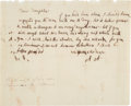 Autographs:U.S. Presidents, Abigail Adams Autograph Letter Twice Signed...