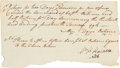 Autographs:U.S. Presidents, William Henry Harrison Document Signed...