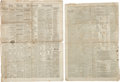Miscellaneous:Newspaper, [Battle of First Manassas]. Newspapers: Group of Two Issues ofThe Daily Richmond Enquirer....