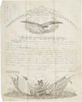 Autographs:U.S. Presidents, Franklin Pierce Military Appointment Signed....