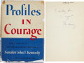 Autographs:U.S. Presidents, John F. Kennedy Signed and Inscribed Copy of Profiles inCourage....