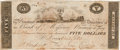 Autographs:Statesmen, Auguste Chouteau Signed Banknote....