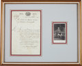 Autographs:Non-American, Charles Maurice de Talleyrand Document Signed....