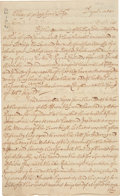 Miscellaneous:Ephemera, [Penn vs. Baltimore Dispute] and [Slavery]. Letter from MarylandGovernor John Seymour. ...