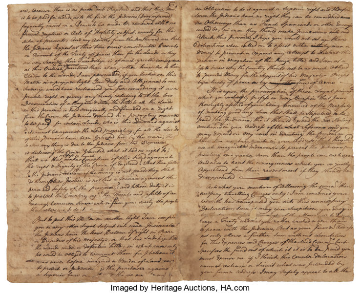 treaty of lancaster