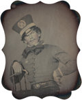 Photographs, Thomas P. Collins (American, 19th Century). Portrait of a young man in uniform, circa 1853. Sixth-plate daguerreotype in...