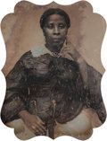 Photographs, Unknown (American, 19th Century). Portrait of an African American woman, late 1840s. Ninth-plate daguerreotype in brass ...