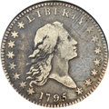 Early Half Dollars, 1795/1795 50C 3 Leaves, O-111, High R.4, VF20 NGC....