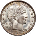 Barber Half Dollars, 1901-O 50C MS67+ PCGS Secure....