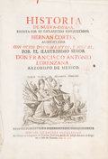 Books:World History, [Mexico and California]. Hernán Cortes and Francesco Lorenzana. Historia de Nueva-España... México: Joseph Antonio d...