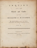 Books:Business & Economics, Adam Smith. An Inquiry into the Nature and Causes of the Wealth of Nations. London: Printed for W. Strahan; and ...