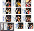 Basketball Cards:Lots, 2000 Upper Deck Legends Legendary Signatures Autograph Collection(27/45). ...