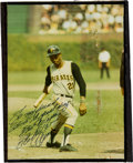 Baseball Collectibles:Photos, Early 1970's Roberto Clemente Signed Photograph....