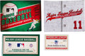 Baseball Collectibles:Others, 2011-2013 Season Passes and Schedules from The Brooks RobinsonCollection....