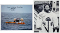 Autographs:Celebrities, Gordon Cooper Apollo 10 Training Signed Photos (Two). ... (Total: 2Items)