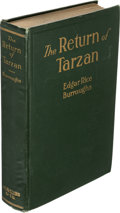 Books:Fiction, Edgar Rice Burroughs. The Return of Tarzan. Chicago:McClurg, 1915....
