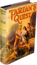 Books:Fiction, Edgar Rice Burroughs. Tarzan's Quest. Tarzana: Burroughs,[1936]....