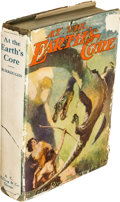 Books:Fiction, Edgar Rice Burroughs. At the Earth's Core. Chicago: McClurg,1922....