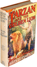 Books:Fiction, Edgar Rice Burroughs. Tarzan and the Golden Lion. New York:Grosset & Dunlap, [1924, though actually ca. 1928]....