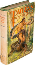 Books:Fiction, Edgar Rice Burroughs. Tarzan Lord of the Jungle. Chicago:McClurg, 1928....